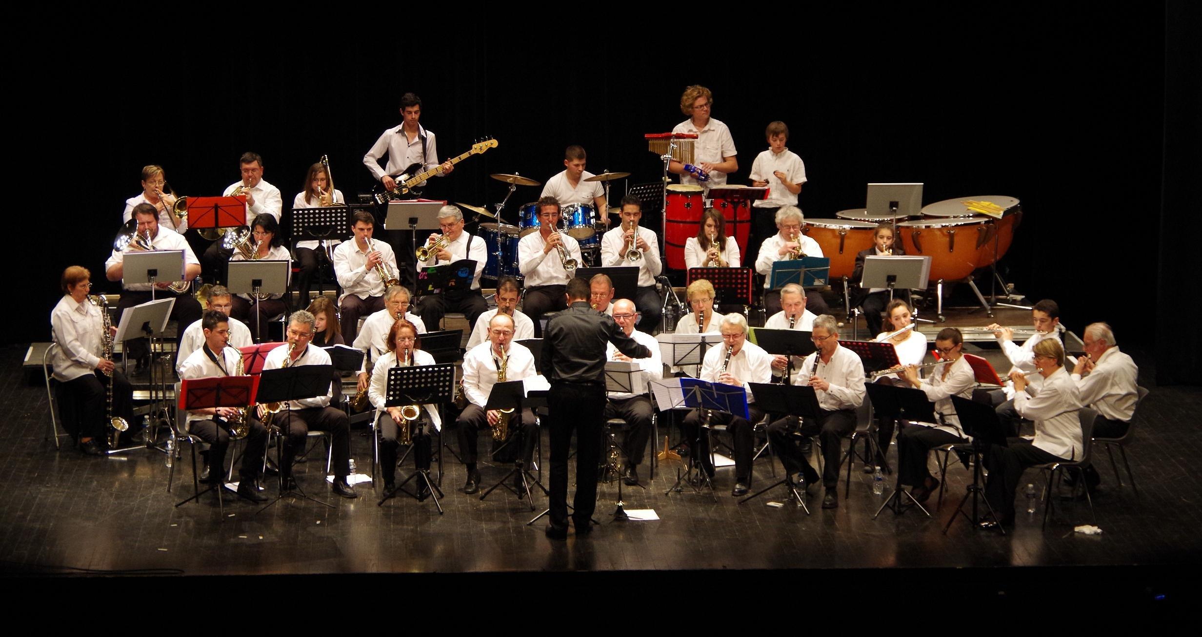 L'orchestre d'harmonie de petite Camargue vous souhaite la bienvenue! imgp0959